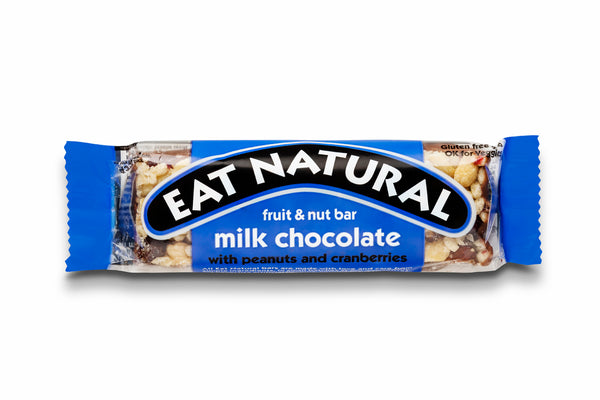 Eat Natural bar med mælkechokolade
