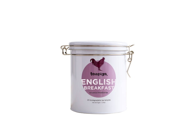 Tins of tea English Breakfast te - 20 stk.