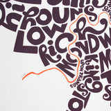 Map of London Boroughs, Ursula Hitz - CultureLabel - 2 (close up far left corner)