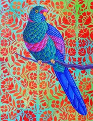 Blue Parrot, Jane Tattersfield Alternate View