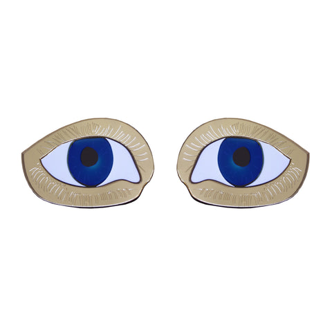 Eye Stud Earrings, National Portrait Gallery - CultureLabel
