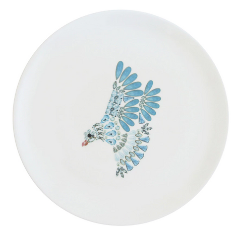 Dove Fine Bone China Plate (Large), Kim Sera