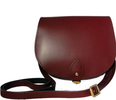 The Oxblood Saddle Bag, N