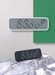 Script Clock (Large), Lexon Alternate View