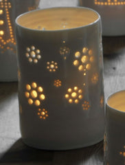 Daisy Field Maxi Tealight Holder, Luna Lighting