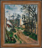 Road at Auvers-Sur-Oise by Paul Cezanne 3d Reproduction, Verus Art