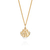 Shell & Pearl Necklace, Lee Renée - CultureLabel - 2