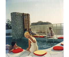 Penthouse Pool, Slim Aarons