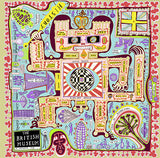 Grayson Perry Scarf: British Museum Map - CultureLabel (full image)