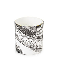 A Map of Days Mug, Grayson Perry Alternate View