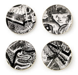 A Map of Days Set of Four Plates, Grayson Perry - CultureLabel - 1