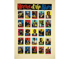 Heroes of the Blues, Robert Crumb