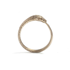 Gold Ouroboros Snake Ring, Rachel Entwistle Alternate View