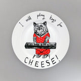Keys For Cheese Side Plate, Jimbobart