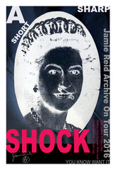 A Short Sharp Shock Tour Poster, Jamie Reid