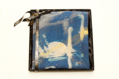 I Have Fallen a Long Way. Clouds are Flowering Scarf, (packaged view) Rosie Emerson - CultureLabel - 1