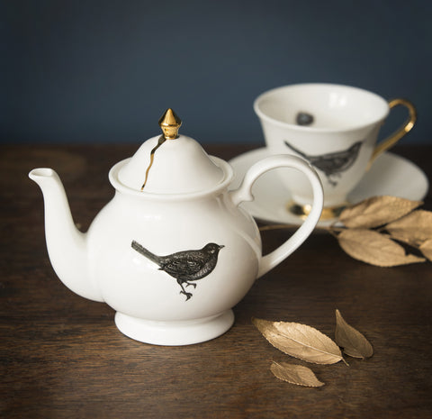 The Bird Teapot, Melody Rose