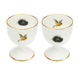 Bird and Nest Egg Cups Set of Two, Melody Rose - CultureLabel - 2