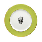Green Skull Dinner Plate, Melody Rose - CultureLabel - 2