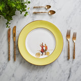 Yellow Highwire Dinner Plate, Melody Rose - CultureLabel - 3