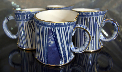 Limited Edition Set of 4 Mugs, Vanessa Conyers - CultureLabel - 1