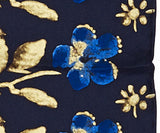 Erskine George Jamesone Dark Blue Silk Scarf - CultureLabel - 3