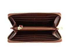 Gwenevere Brown Zip Purse, N'Damus Alternate View
