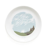 Set of Four Cloud Dinner Plates, Snowden Flood - CultureLabel - 6