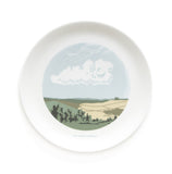 Set of Four Cloud Dinner Plates, Snowden Flood - CultureLabel - 4