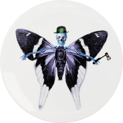 Lepidoptera Vis Cake Plate, The New English - CultureLabel