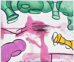 Three Etchings (#3), Carroll Dunham Alternate View