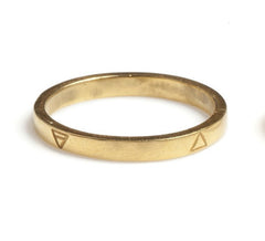 Gold Four Elements Ring, Rachel Entwistle