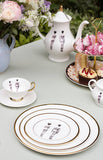 The Models Bone China Plate, Melody Rose - CultureLabel - 2
