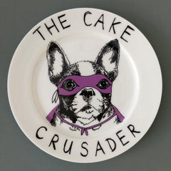 The Cake Crusader Side Plate, Jimbobart