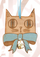 Bow Tie Cat Pair, Small Stories Alternate View