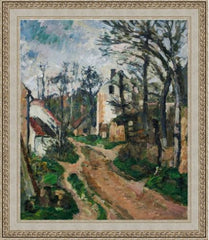 Road at Auvers-Sur-Oise by Paul Cezanne 3d Reproduction, Verus Art Alternate View
