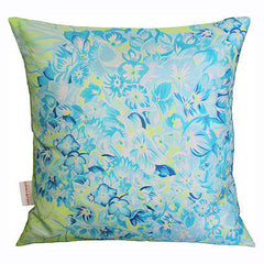 Hydrangea Lime Cushion, Chloe Croft