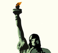 """Liberty"" - Fine Art Print, Plastic Jesus Alternate View"