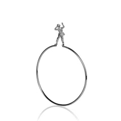 Lookout Soldier Bangle, Deborah Crow Jewellery