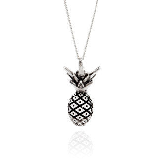 Silver Pineapple Necklace, Lee Renée - CultureLabel - 1