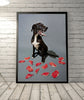 Domino Pup Art, Gillie and Marc - CultureLabel - 2 (framed