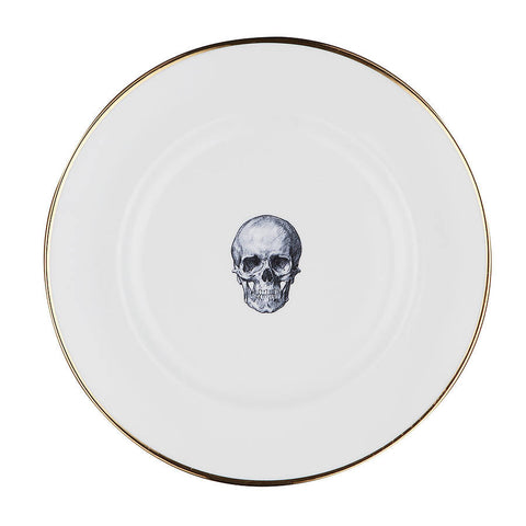 The Skull Bone China Plate | Melody Rose - CultureLabel - 1