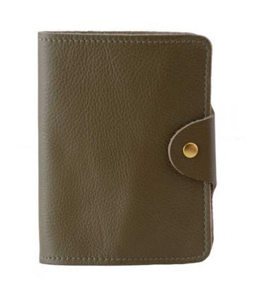 Passport Cover Olive Grain, N'Damus - CultureLabel - 1