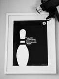 Lebowski Quote #3, Run For The Hills - CultureLabel - 2 (framed)