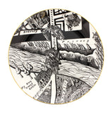 A Map of Days Set of Four Plates, Grayson Perry - CultureLabel - 2