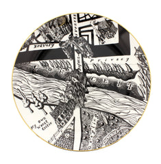 A Map of Days Set of Four Plates, Grayson Perry Alternate View