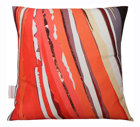 Puffin Abstract Cushion, Chloe Croft - CultureLabel