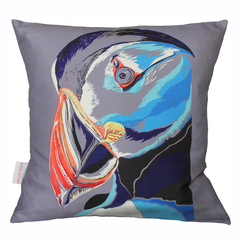 Perfect Puffin Cushion, Chloe Croft - CultureLabel - 1