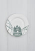 A Set of 6 River Series Dinner Plates, Snowden Flood - CultureLabel - 4