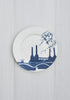 A Set of 6 River Series Dinner Plates, Snowden Flood - CultureLabel - 7